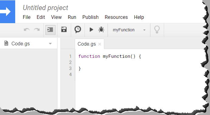 Google Sheets Script Script Editor Opens in a New Window