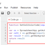 Copy and Paste the code inot Google Script Editor