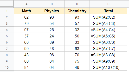 Formula being shown instead of the value