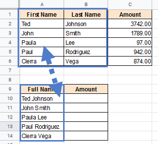 VLOOKUP multiple criteria - First and last name