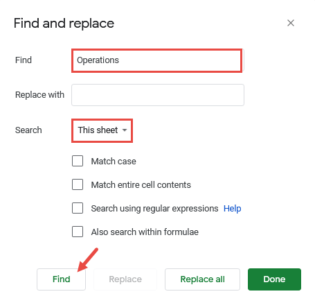 Find Instances of a Search String One by One