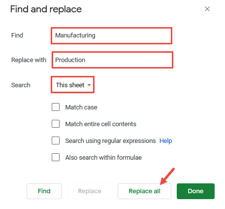 Finding and Replacing All Instances of a Search String at Once