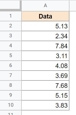 Data where decimal need to be converted to fractions