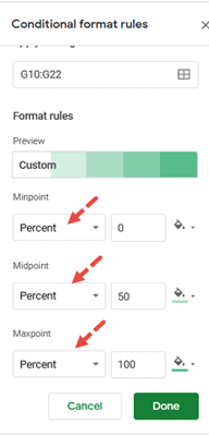 create gantt chart in google sheets