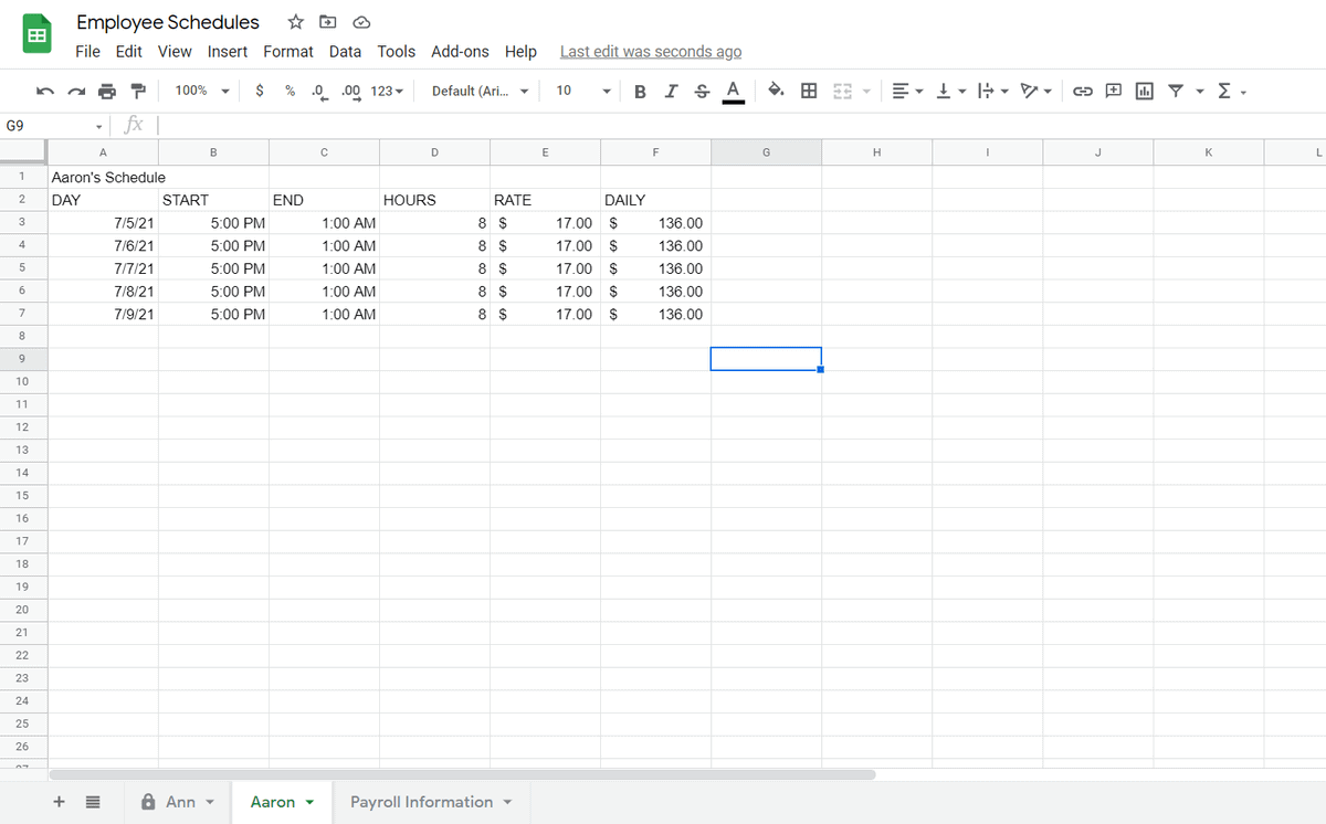 How to Share Only One Sheet in Google Sheets