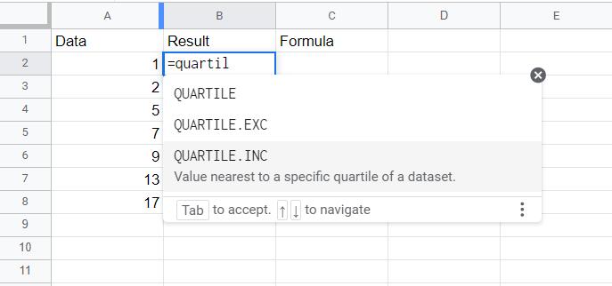 quartile.exc